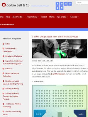 7 Event Design Ideas from EventTech Las Vegas